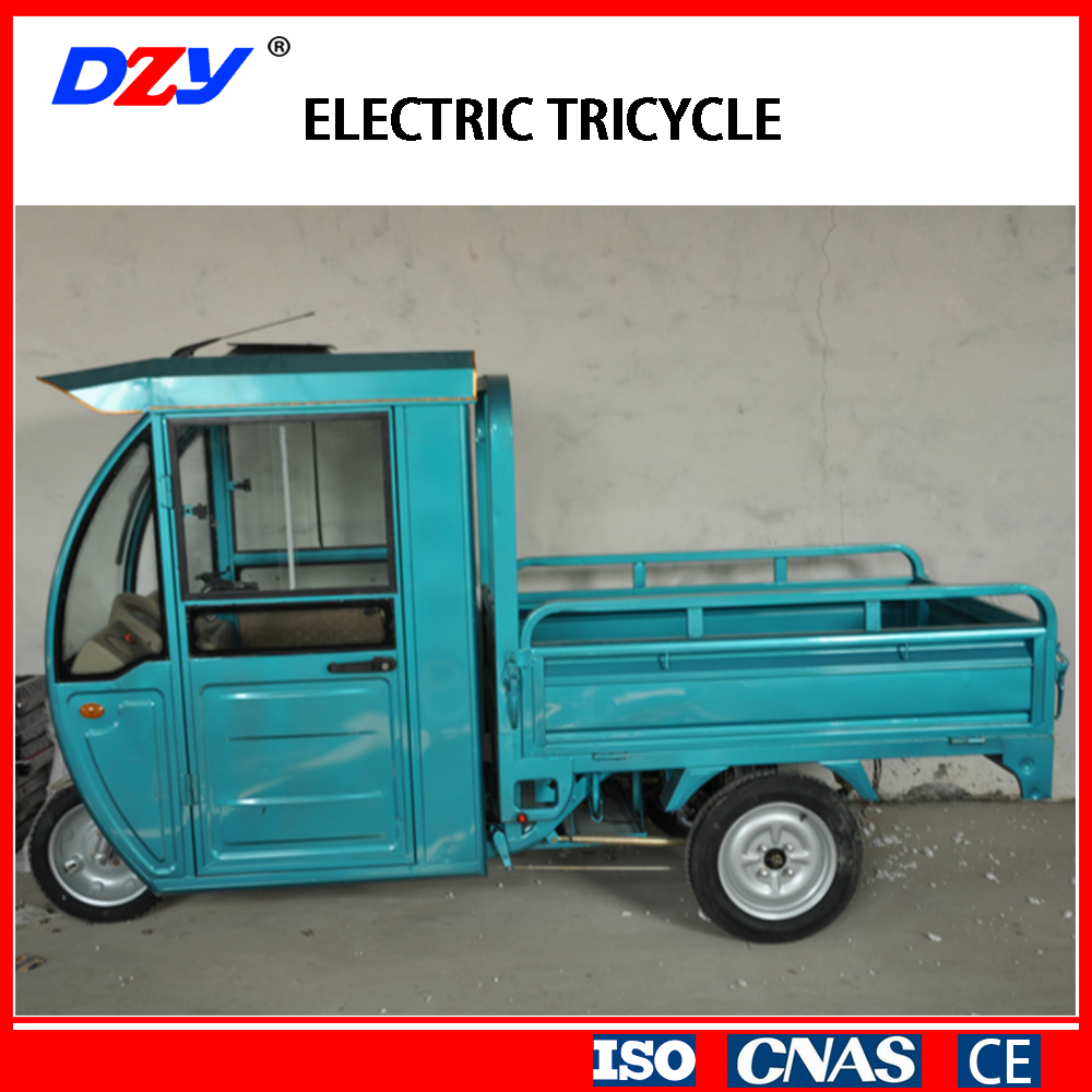 1.5m closed electric tricycle scooter for cargo