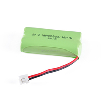 NI-MH Rechargeable AAA 900mAh 2.4V battery pack for Electric bicycles /shaver/vacuum cleaner