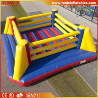 kids or adule inflatable Boxing Ring, inflatable wrestling ring for sale