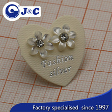 customized natural mother of pearl shell ear-ring clip