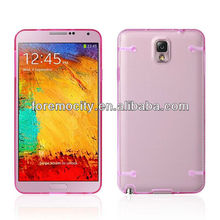 Noctilucent pc tpu korean cell phone cases for samsung Note 3