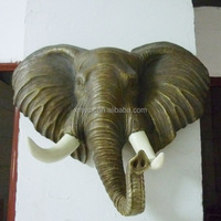 Home and garden decoration elephant head for sale