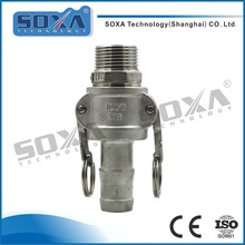316 Sanitary Stainless steel Type C Quick Release Camlock Couplings