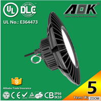 UL DLC listed UFO Led 150w High Bay Light For Warehouse Gym Industrial Commercial Shop