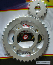 motorcycle sprocket CG125 428-38T/15T
