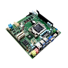 4*SATA industrial control panels motherboard with 2*mini PCIE +8*usb