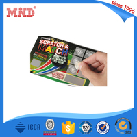 MDP126 hot sell pvc Phone card with scratch off with cheap factory price
