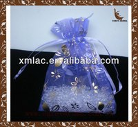 customized odor neutralizer/ aroma fragrance beads air freshener in small organza bag