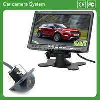 Waterproof Car Monitor 7 inch with key hidden camera, depending on the system after the Universal
