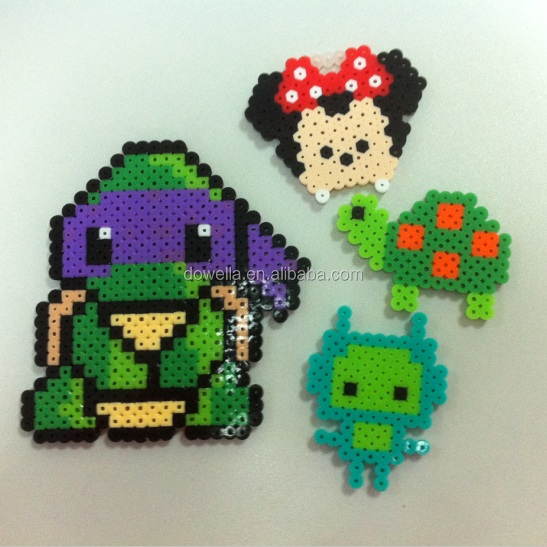 Perler beads educational toys for kids, good quality in Disney audit factory.