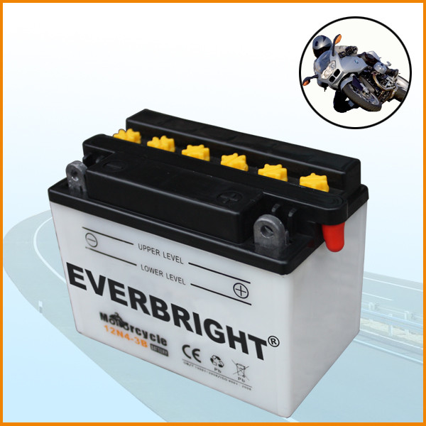 Maintenance Free Motorcycle Battery MF 12V 4AH Dry Charged Motor Battery