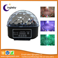 12V cheap price led magic ball sound control disco bar rgbwa stage light