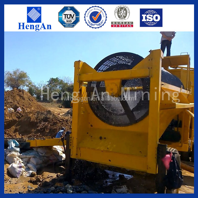 Alluvial gold washing plant for gold ore buyers