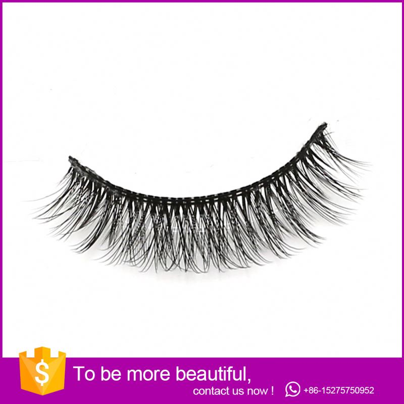 Wholesale Mink Eyelash Excellent Minky Silk 0.07 3D lashes Extension 106