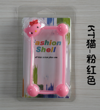 Universal TPU Silicone Soft mobile phone Case Multifunctional 3D cartoon border edging case
