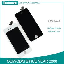 lcd with screen digitizer for iphone 5, for iphone 5 lcd dsiplay, original digitizer lcd touch screen for iphone 5