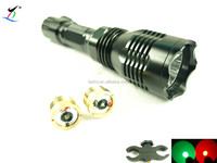 Hog Hunting Light Gun Mounted Hog Flashlight only in Red, Green or White Led ml-900