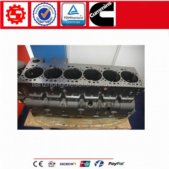 Cummins 6CT 8.3 Diesel Engine Cylinder Block 3939313 3970752 3971387 4947363 4993493 5289666 4089241