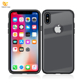 Beautiful New Product Transparent PC TPU for Apple iPhone X Luxury Glass Mobile Phone Back Cover