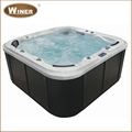 5 people best selling wholesale whirlpool acrylic outdoor aqua massage spas hot tubs 2015