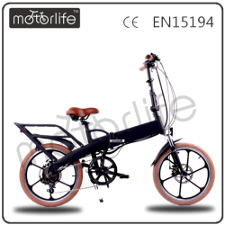 Motorlife/OEM Folding girl electric bike with a generator