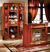 Home Furniture Italian Cheap Curio Rustic Furniture