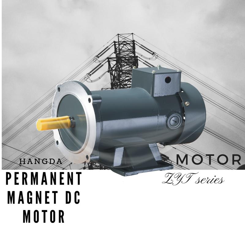 1750RPM 1.5HP TEFC 145TC PERMANENT MAGNET DC MOTOR 180V