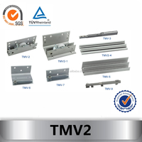 TMV2 cabinet sliding door mechanism