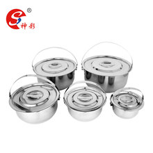 5pcs cookware sets cookware cooking pot stainless steel Soup & Stock Pots