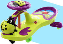 Hot selling new model children swing car/kids twist car for baby