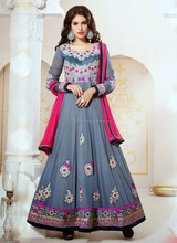 Georgette anarkali suits in india