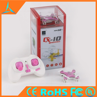 2016 New Products Cheerson CX 10 Mini Quadcopter RC Toys Nano Drone Small Flying Light 2.4G CX-10 Toy