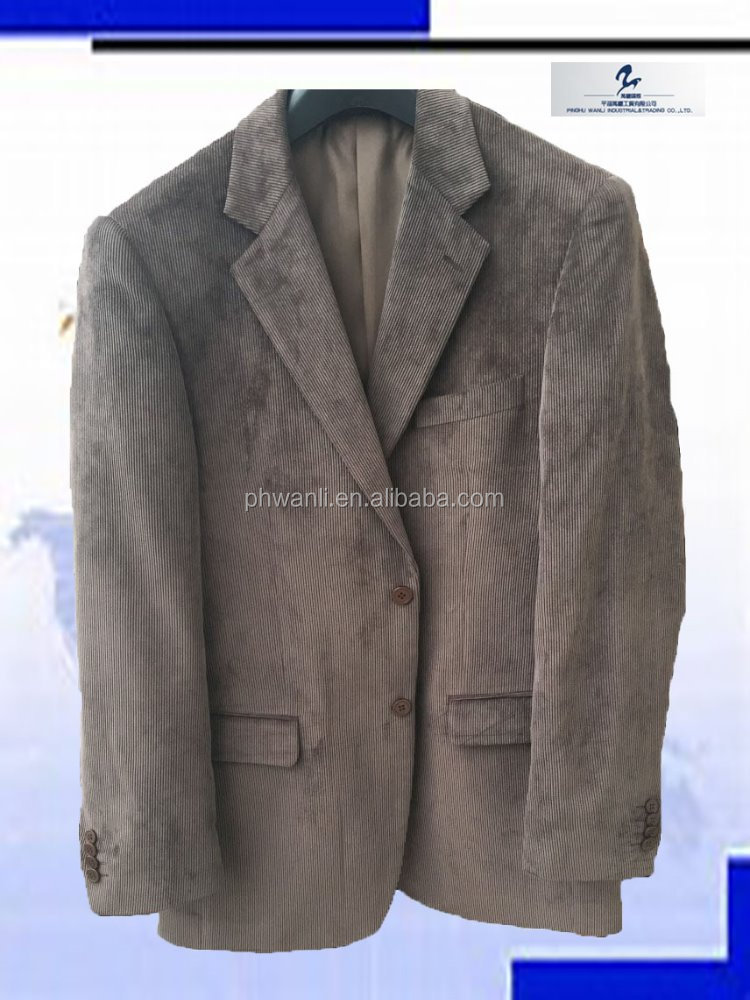 2016 white beautiful frocks corduroy used suits for men cheap custom made prom suits