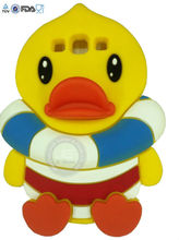 JE 3d pororo silicone case for iphone 2014 Silicone Skin Soft Gel Case Phone Cover /soft great look silicone phone case