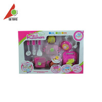 China manufacturers funny kitchen play set plastic cooking kids toy