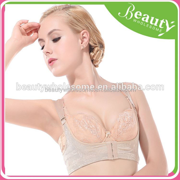 back support and Breast enhancer bra,Hot 53 push up bra set
