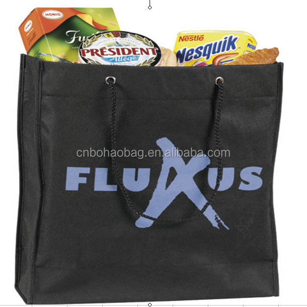 eco friendly non woven supermarket tote bag