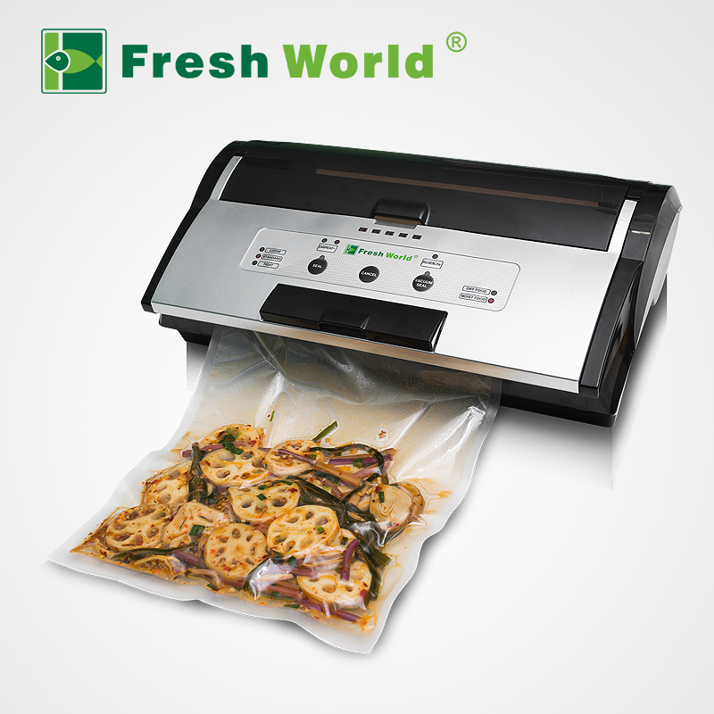 Easy To Use Professional Kitchen Food Saver Vacuum sealing packing machine