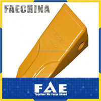 China factory OEM wear resistance alloy steel rock digging digger excavator forged bucket teeth
