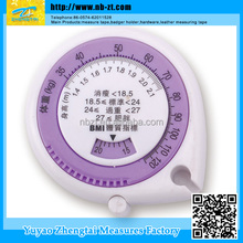 BMIMT-015 Weight And Height promotional mini bmi body tape measure