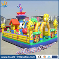 Fantastic beautiful princess inflatable bouncy castle for playing
