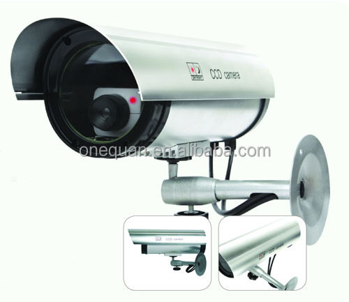 Surveillance Flash LED Indoor/Outdoor Fake/Dummy CCTV Security Camera