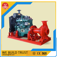 High quality Diesel Engine Water Pumping Unit , Diesel pump with 6 months warranty