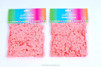 wedding and festival 8mm round light pink color party confetti