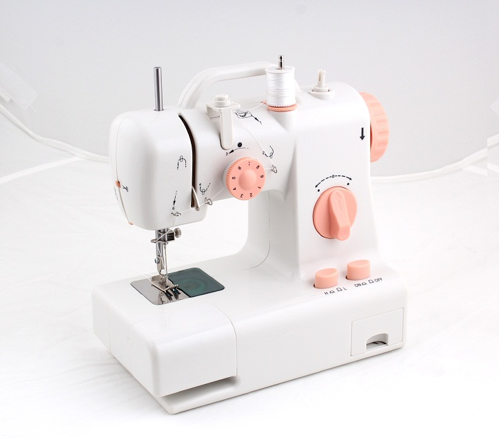 FHSM 318 domestic manual mini hand siruba overlock butterfly sewing machine