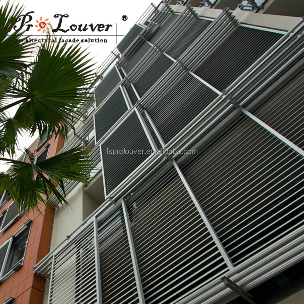 Wholesale products China aluminum window metal rolling shutter slats