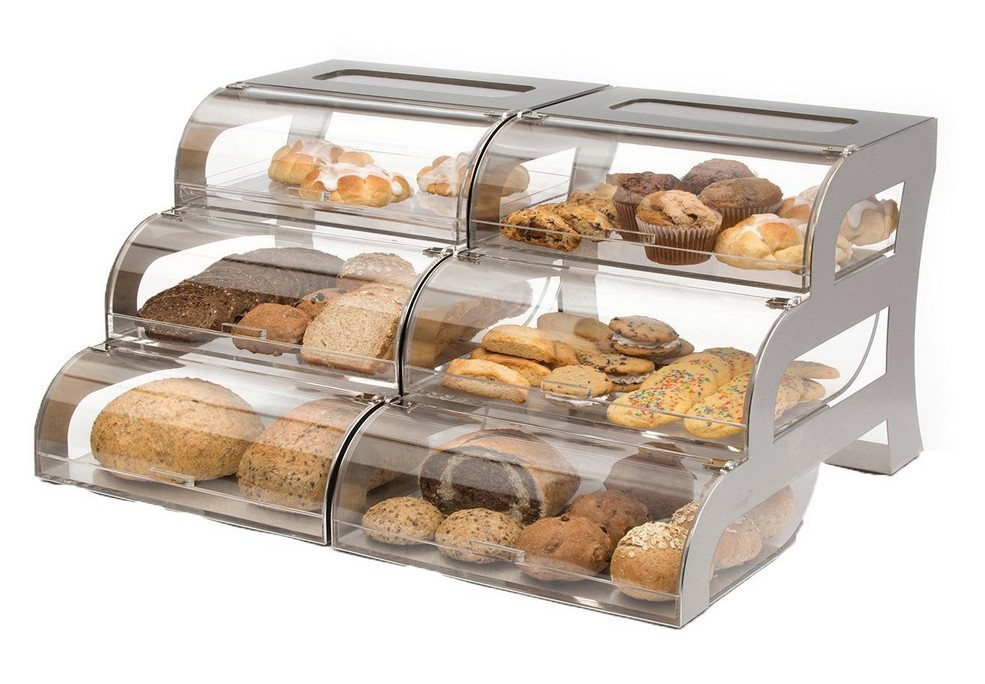 Clear Acrylic Bread Display Rack