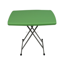 outdoor adjustable height portable folding dining table