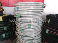 China Hebei Dongjin factory sale fabric braided food grade rubber hose/milk delivery hose