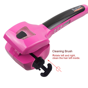 Professional ceramic curling iron wand rotating styling steamer ceramic curling iron automatic curling iron